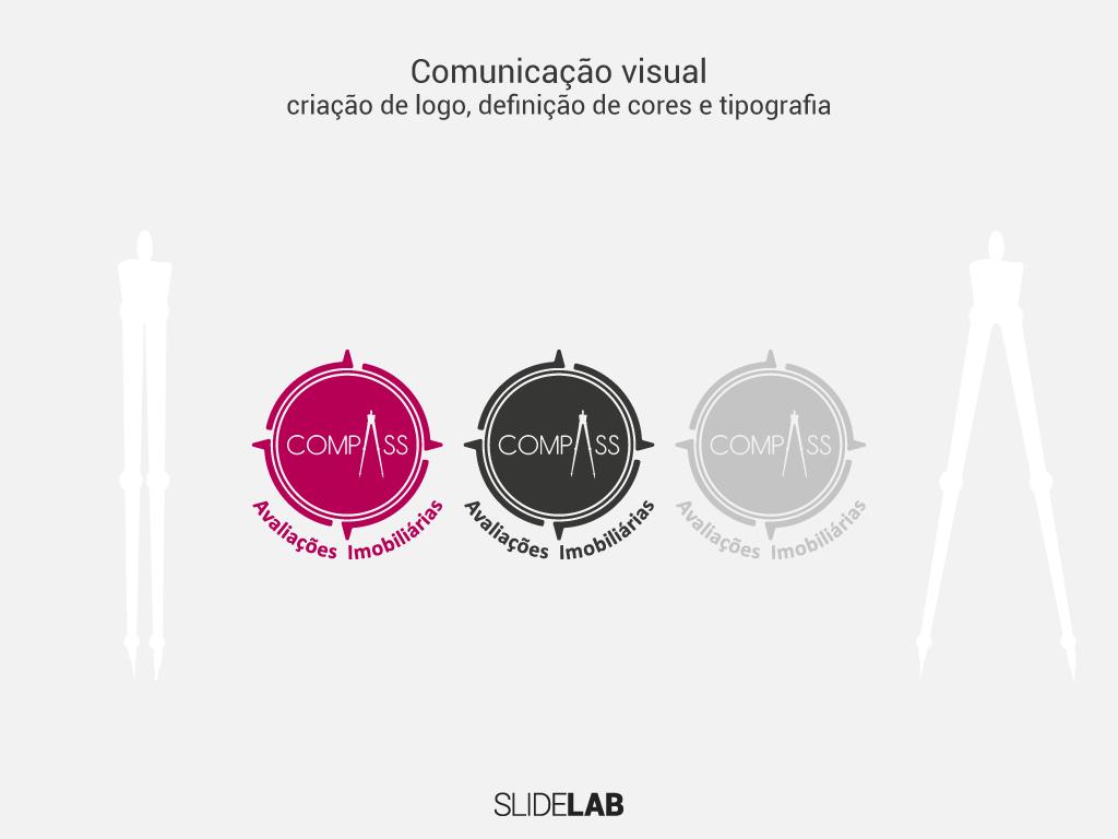 Nova logo criada para a Compass