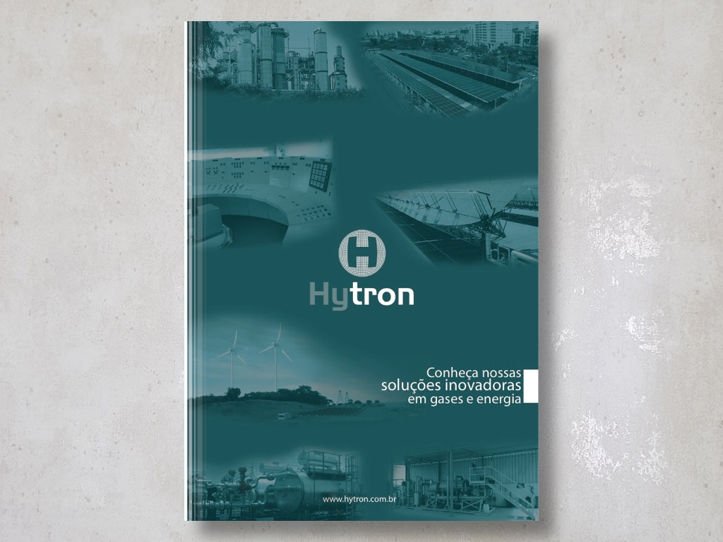 Capa do folder da Hytron
